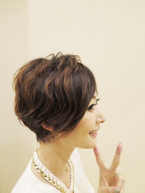 田丸麻紀さんブログより いつかしてみたいショートカット