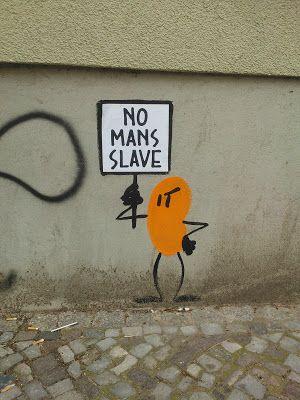 Human Bean * Street Art in Berlin