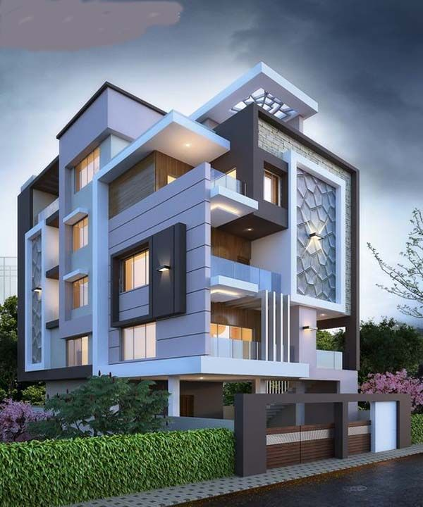 Home Design Exterior Ideas In India: Modern House Bungalow Exterior Desgin 2019