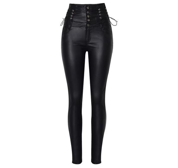 Womens Patent Leather PU Skinny Waist Belt For Jeans Dress