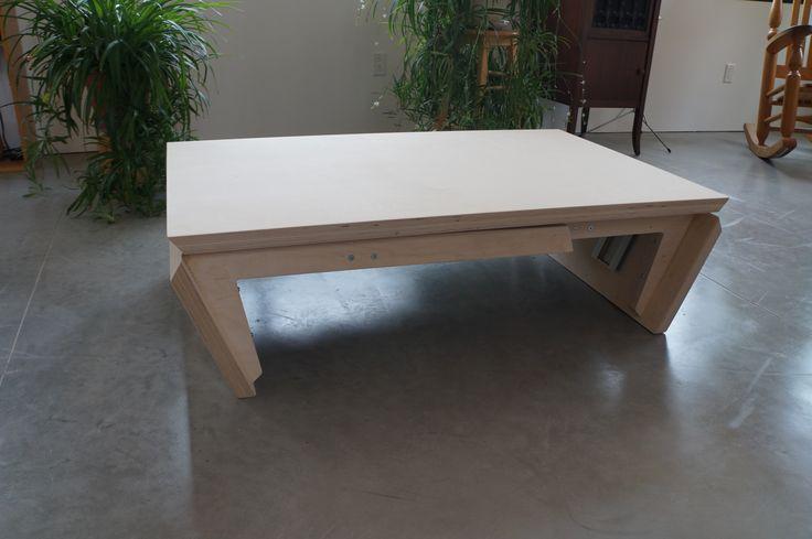 Les 25 meilleures id es de la cat gorie table basse - Table basse escamotable ...