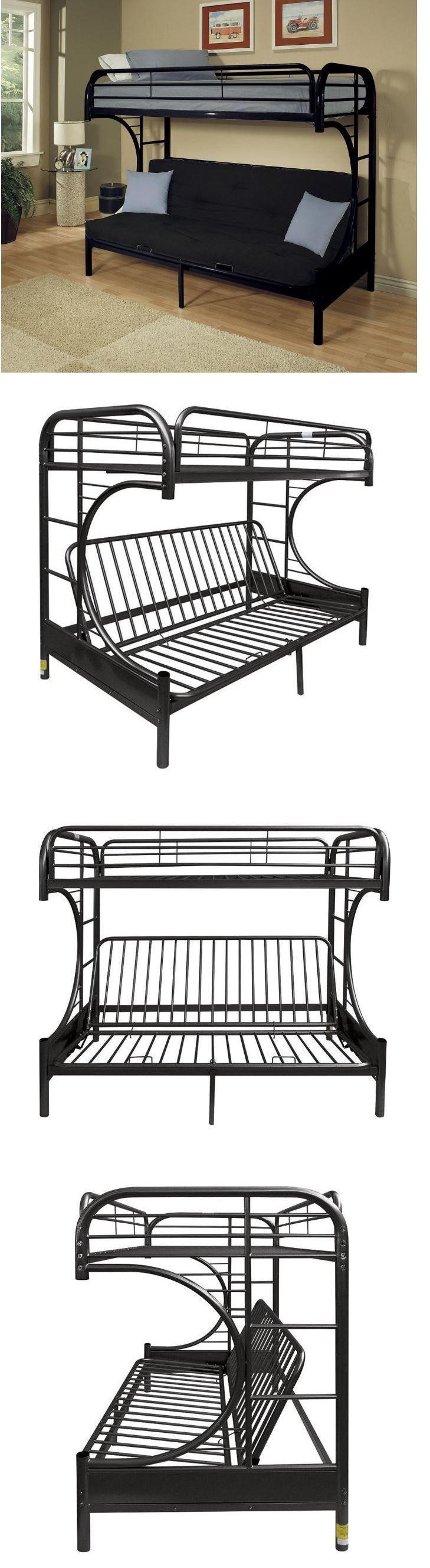 Bedroom Furniture 66742 Bunk Beds Student Loft Bed Frame For S Kids Twin Over