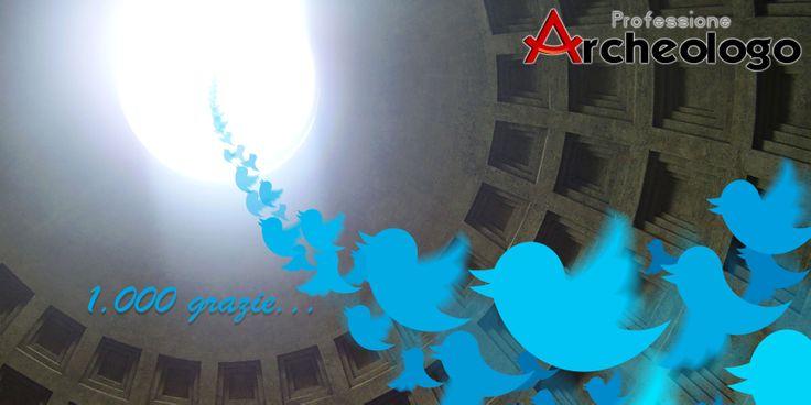 1.000 Twitter Followers! Soggetto ed elaborazione: Davide Arnesano