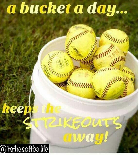 A bucket a day....