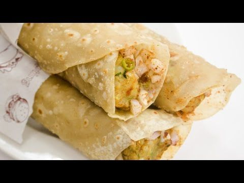 Frankie Recipe | How to Make Street Style Veg Franky Roll Recipe at Home | Indian Street Food – YouTube
