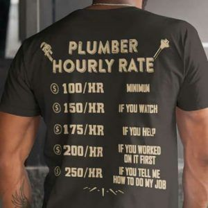 Only plumber in here?!