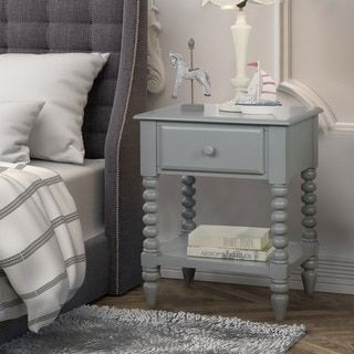 Shop for Furniture of America Alma Transitional Style 1-drawer Youth Nightstand. Get free delivery at Overstock.com - Your Online Furniture Store! Get 5% in rewards with Club O!