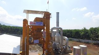 BUKAKA ASPHALT MIXING PLANT (BAMP 1000B - FA)  Proses Instalasi /Pemasangan & Uji Coba Asphalt Mixing Plant (BAMP  1000B-FA) kapasitas 60  - 80 TPH, lokasi daerah Semarang di CV. Bonindo Cipta Daya