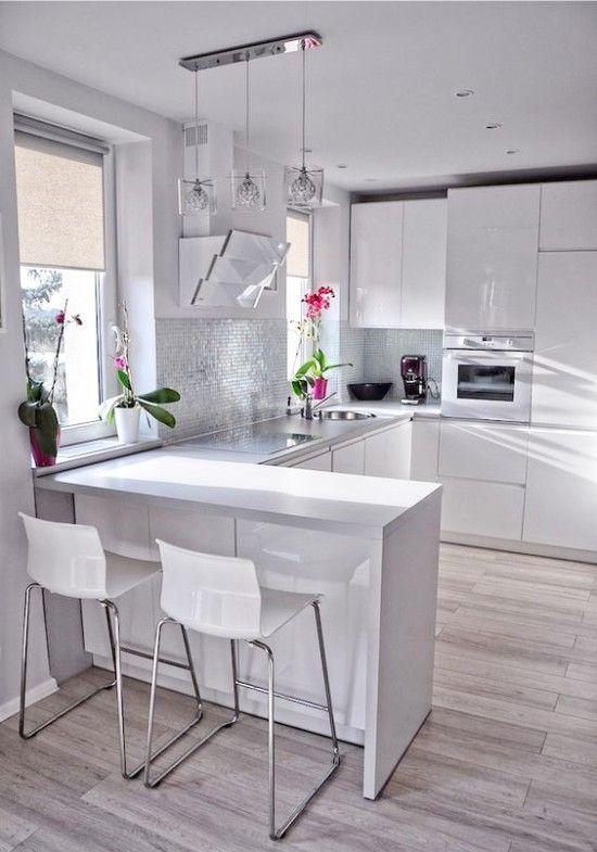 En este post conocer s todo lo relacionado con la - Fotos de cocinas pequenas y modernas ...