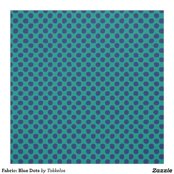 Fabric: Blue Dots