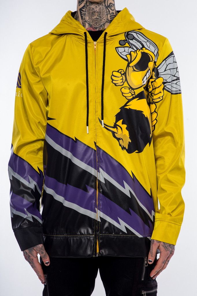 9 best jackets images on pinterest john varvatos parka and cowl team zip front hoodie yellow gumiabroncs Gallery