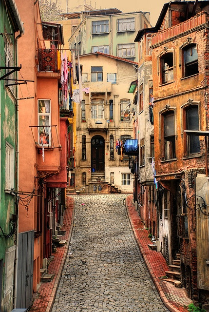 Balat Houses / Istanbul   by ~~Nesriin~~, via Flickr