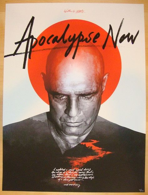 "2013 ""Apocalypse Now"" - Movie Poster by Grzegorz Domaradzki"