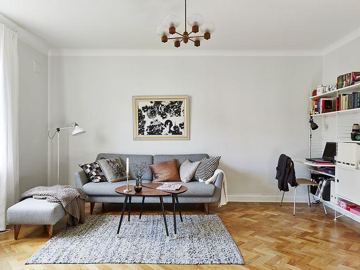 joli appartement à Göteborg présenté par l'agence immobilière Stadshem.
