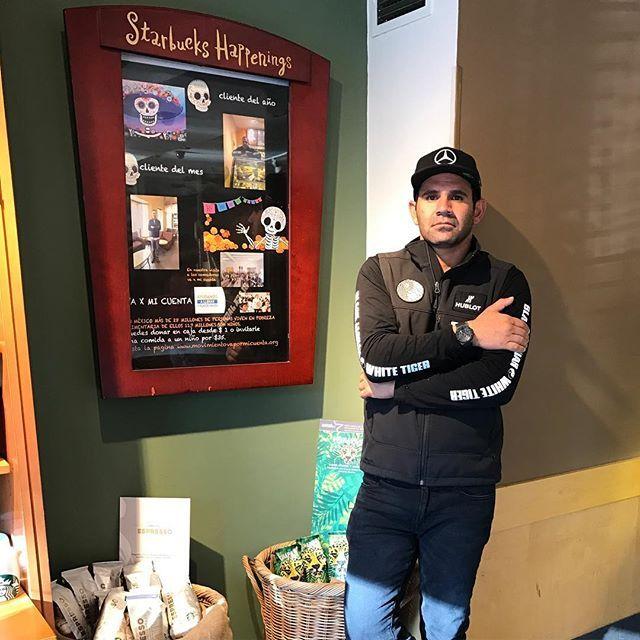 24 hours I'm looking at the horizon, I swear I was not posing (Sarcasm for the re...).... #Starbucks #BlackJaguarWhiteTiger #Hublot #TeamLH