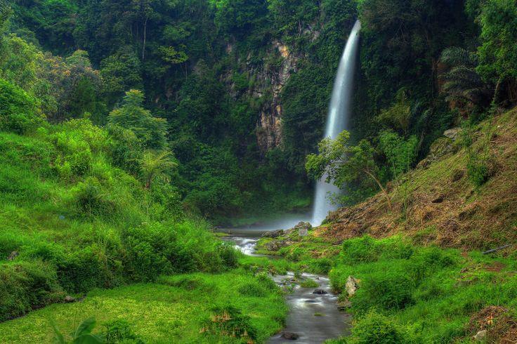 Curug Bubrug Wisata Murah dan Alami di Jawa Barat - Jawa Barat