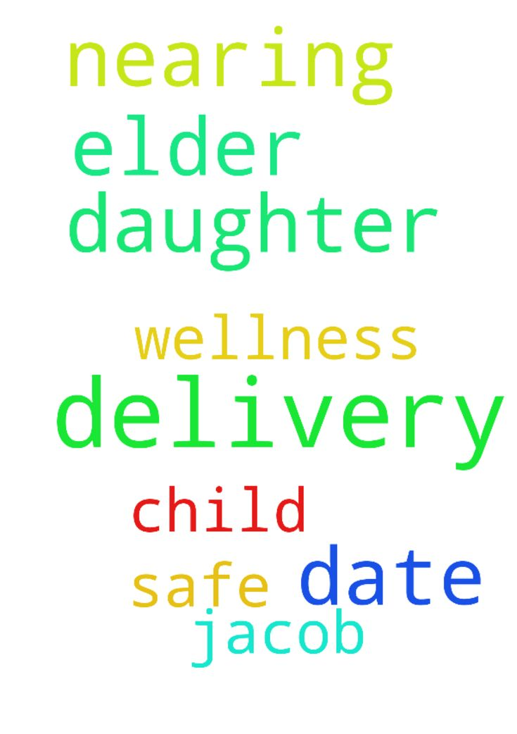My elder daughter is nearing delivery date pray for - My elder daughter is nearing delivery date pray for her safe delivery and wellness of child R Jacob  Posted at: https://prayerrequest.com/t/IfY #pray #prayer #request #prayerrequest
