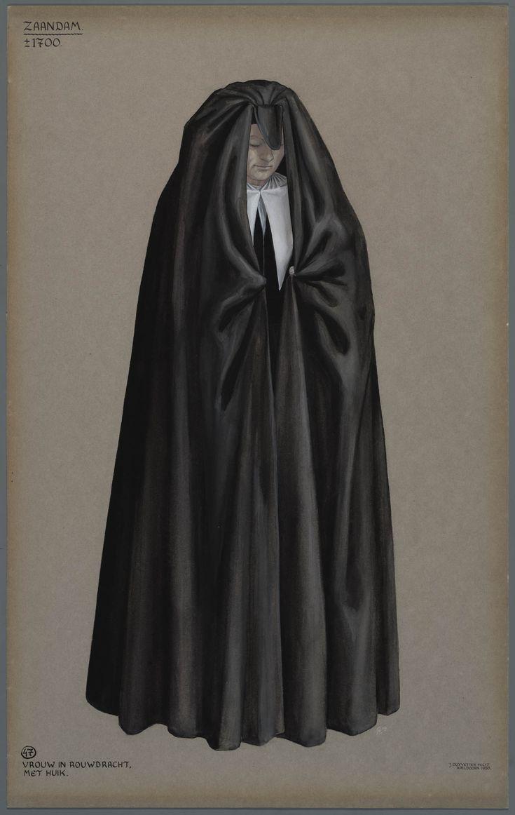 De falie, een wijde zwarte cape die op het platteland bij begrafenissen werd gedragen. Lopend achter de kist sloegen de vrouwen de mantel helemaal om zich, ook hun gezicht bedekkend. Het verhaal gaat dat dit gedaan werd om zich af te sluiten voor de ziel van de overledene, die niet in een ander lichaam naar binnen mocht glippen.
