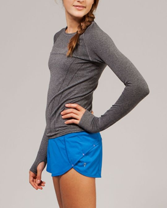 short length and split leg openings give you plenty of room to move. | Speedy Short