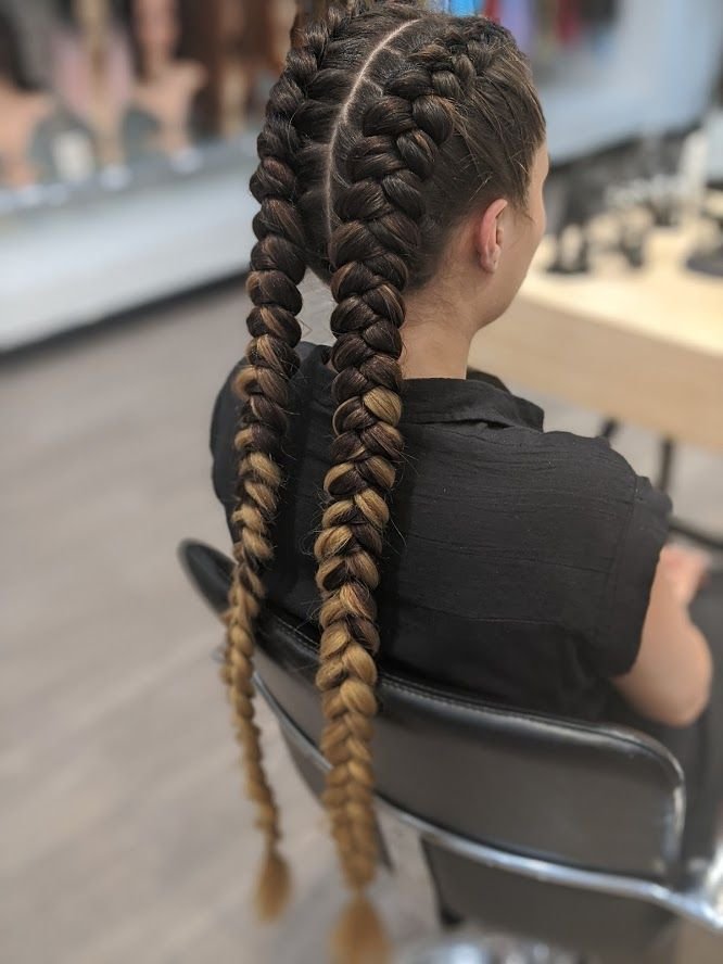 Thick Dutch Braid Extensions Braids With Extensions Dutch Braids Short Hair Dutch Braid Hairstyles