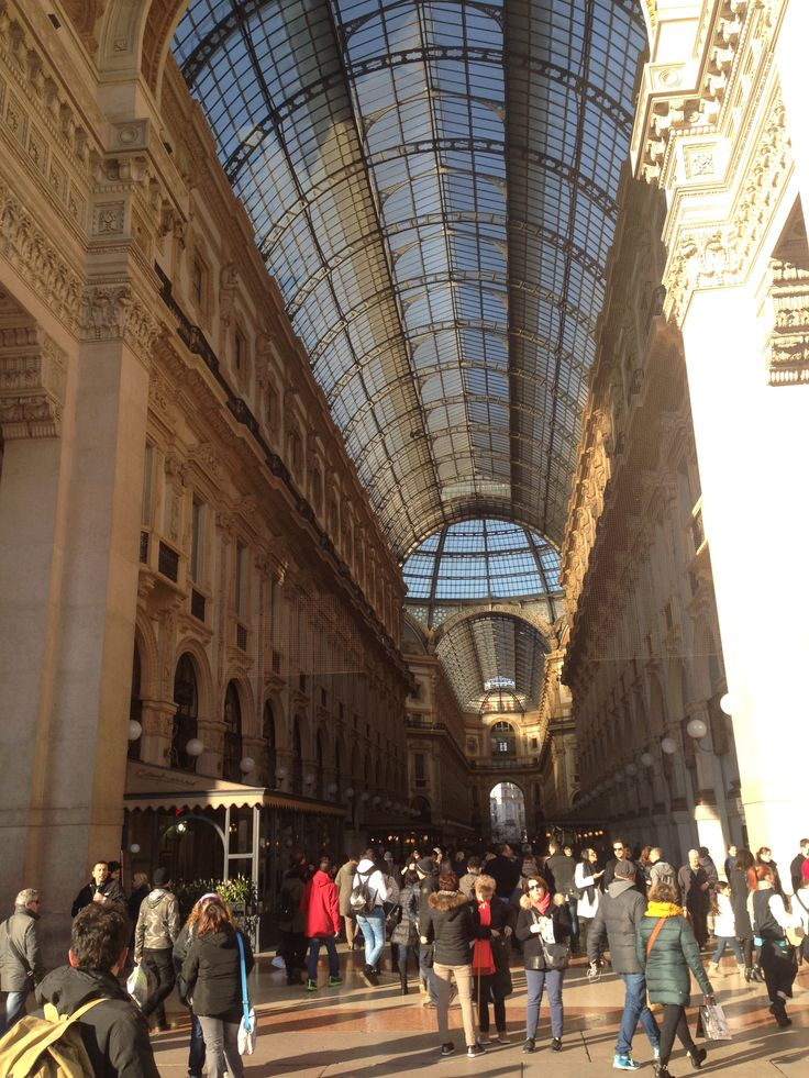 Amazing architecture: Galleria Vittorio Emanuele.