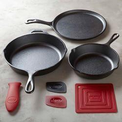 Lodge Cast Iron, Lodge Cookware & Lodge Pans | Williams-Sonoma