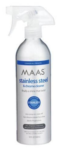 Mass 92840-01 Stainless Steel & Chrome Cleaner, 18 Oz
