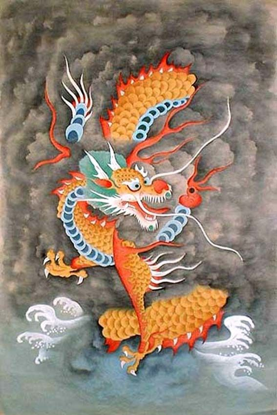 Korean Dragon: 76 Best Art Lesson Ideas: Dragons Images On Pinterest