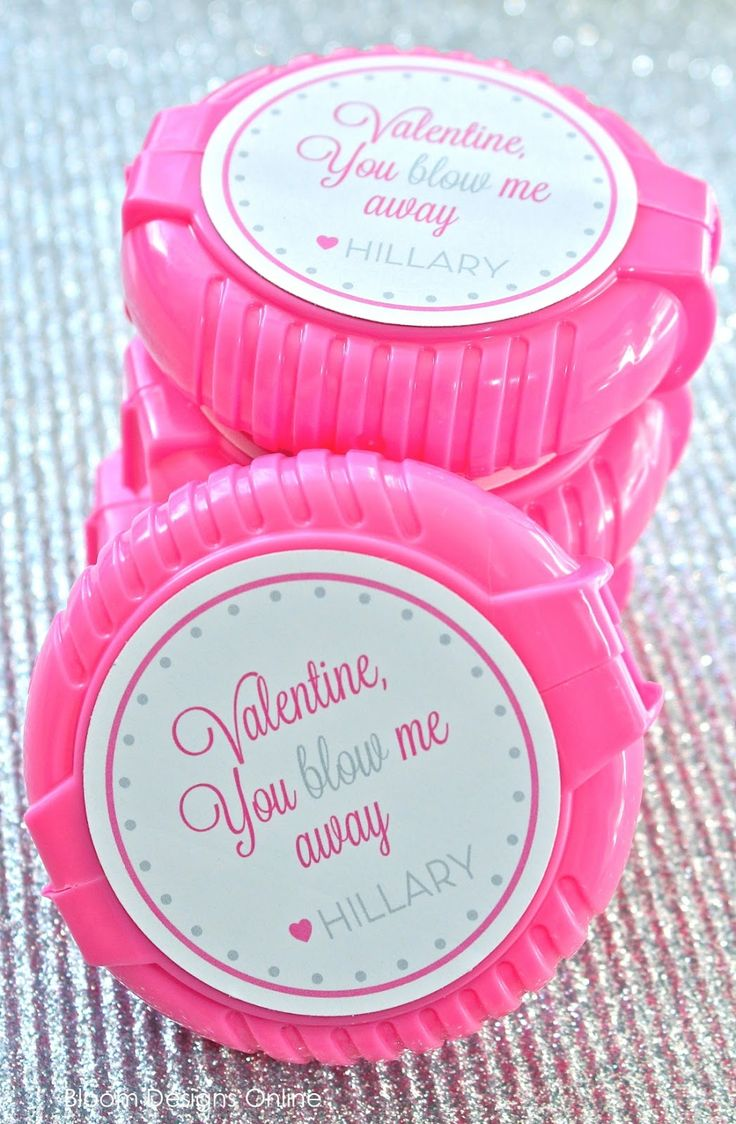 Bubble valentines. Cute! #valentines #printable