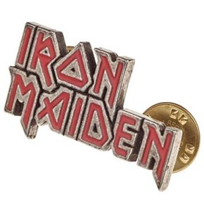 Iron Maiden Enamel Logo Pin Badge