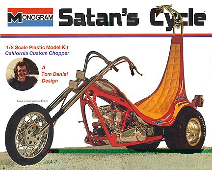 Monogram Satan's Cycle - reissued King Chopper minus the vulture