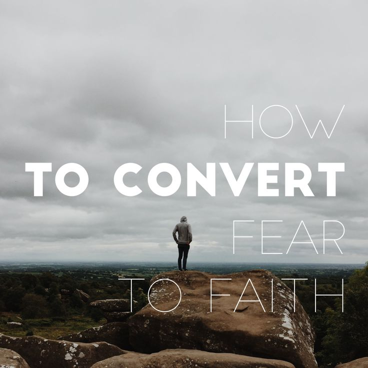 Fear is paralyzing. It is something that I have dealt with all of my life and even though God has delivered me from so much fear, it's still something I have to keep in check. My dad says all…