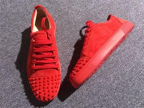 reputable site 6aeb3 0c8f5 Christian Louboutin Sneaker Low Top Junior Men Shoes | Shoes ...