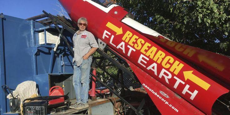 El hombre que se lanzará en cohete para demostrar que la Tierra es plana