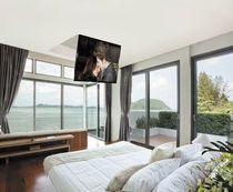 Support TV motorisé pour plafond (télécommandé)