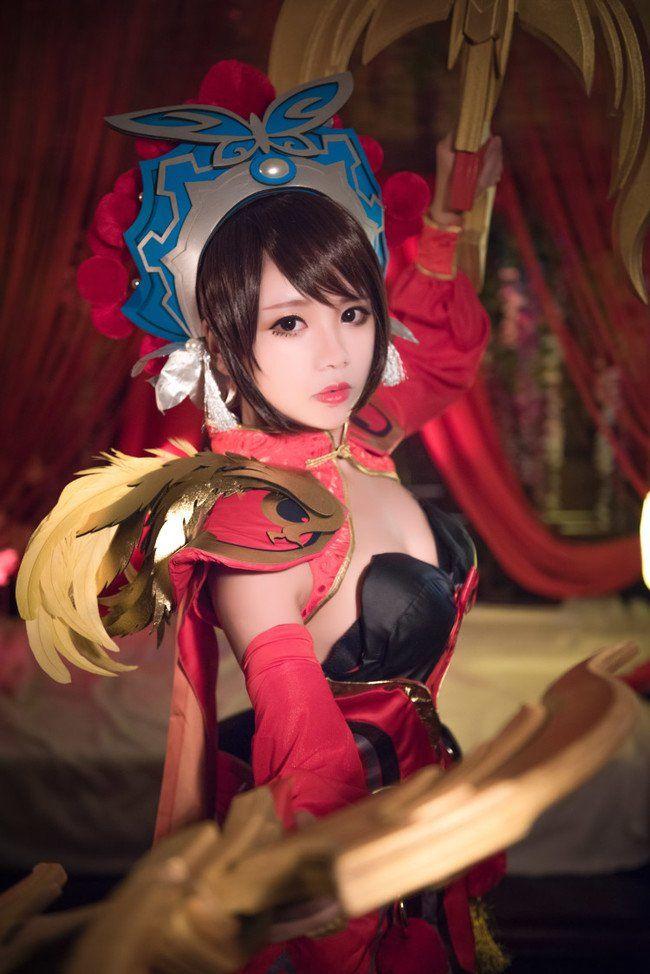 キャラ:虞姬 Cn:小山楂去哪儿啦 ゲームからのキャラです。 モデルは『さらば、わが愛/覇王別姫』という哀しいラブストーリーのヒロインです。