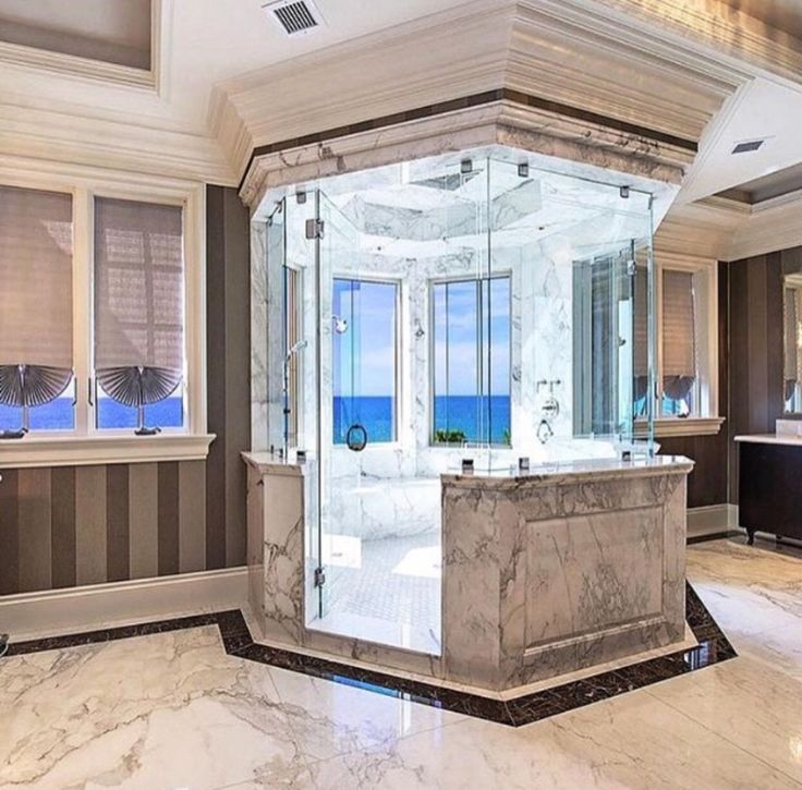Luxus Badezimmer Marmor