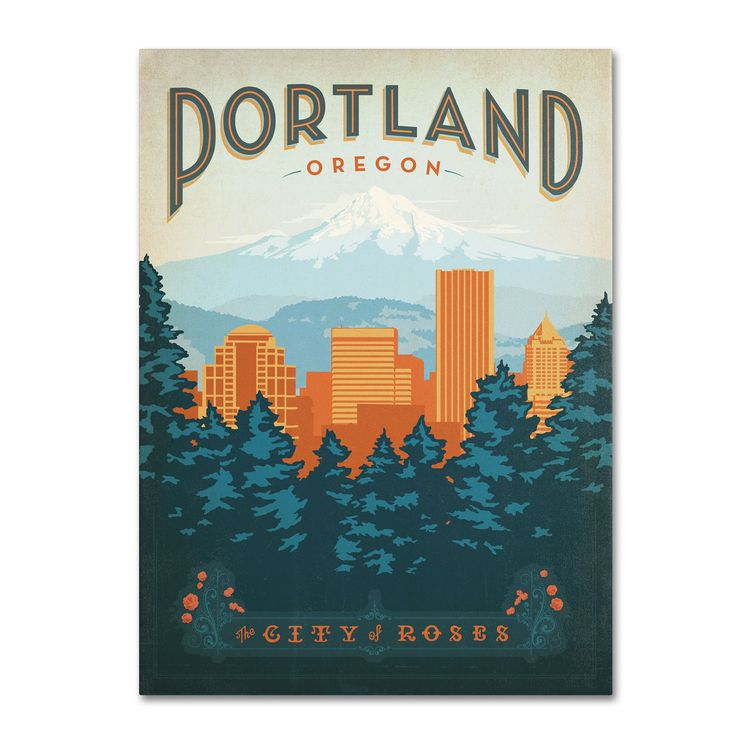Anderson Design Group 'Portland' Art