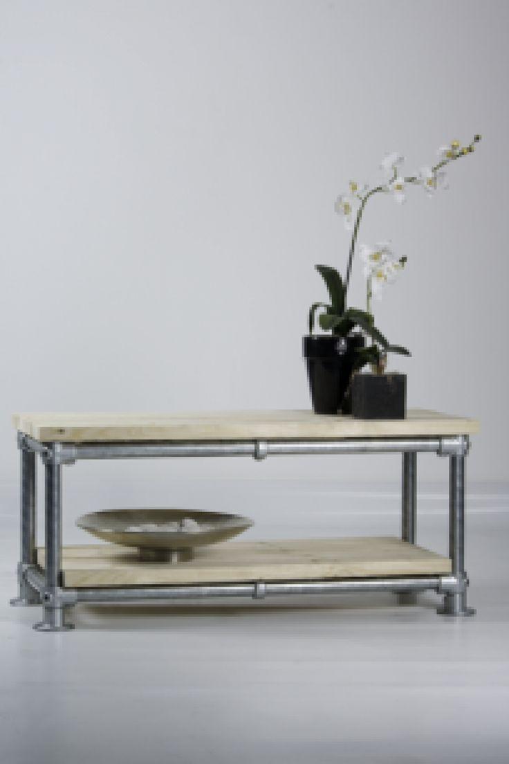 GISS design - Tv tafel - Steigerbuis - Tafels