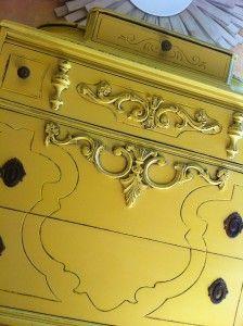 yellow chest