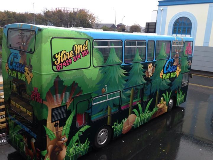 HNS signs bus wrap!
