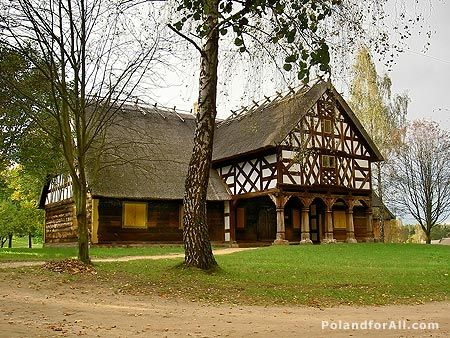 Old house in Skansen Olsztynek