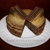 Indische chocoladespekkoek