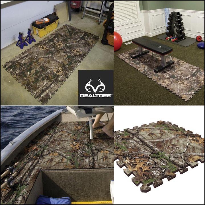 #New Realtree Xtra Camo Floor Composite Tiles. #Realtreecamo