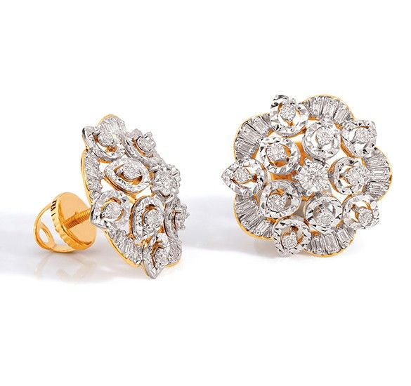Tanishq Niloufer Collection Jsl In 2019 Earrings