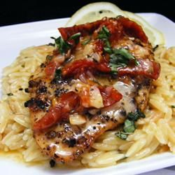 Chicken Bryan: This recipe is so close to Carrabba's dish! Simply scrumptious