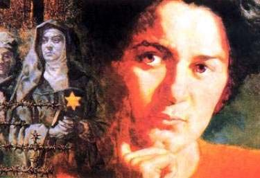 St. Edith Stein, Jewish Christian nun, perished in Auschwitz. I read the letter she wrote to the pope - asking him NOT to ignore the evils in Germany, to take a stand, to speak out.....she never heard back from him. Her story is truly amazing