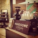 @Handsome Coffee Roasters set up at @anthropolgie today, not a bad gig at all... #anthroevents
