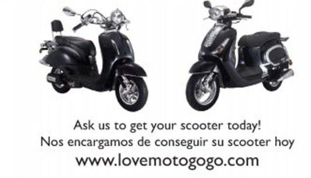 Motogogo, Marbella - The Costa del Sol's No 1 Rent A Scooter company. Rent A Scooter on the Costa del Sol from €80 for 3 days all inclusive! 50cc and 125cc Scooters...
