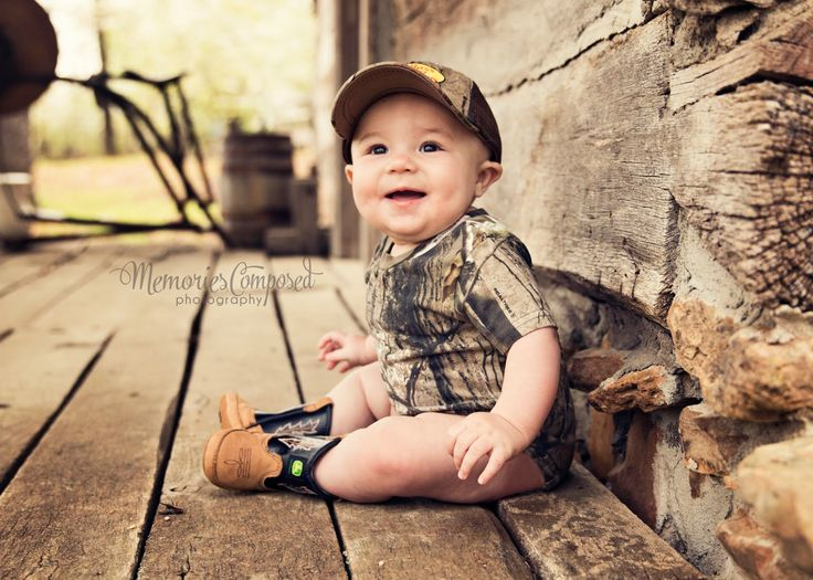 Baby photography session... Camo is so cute!!!